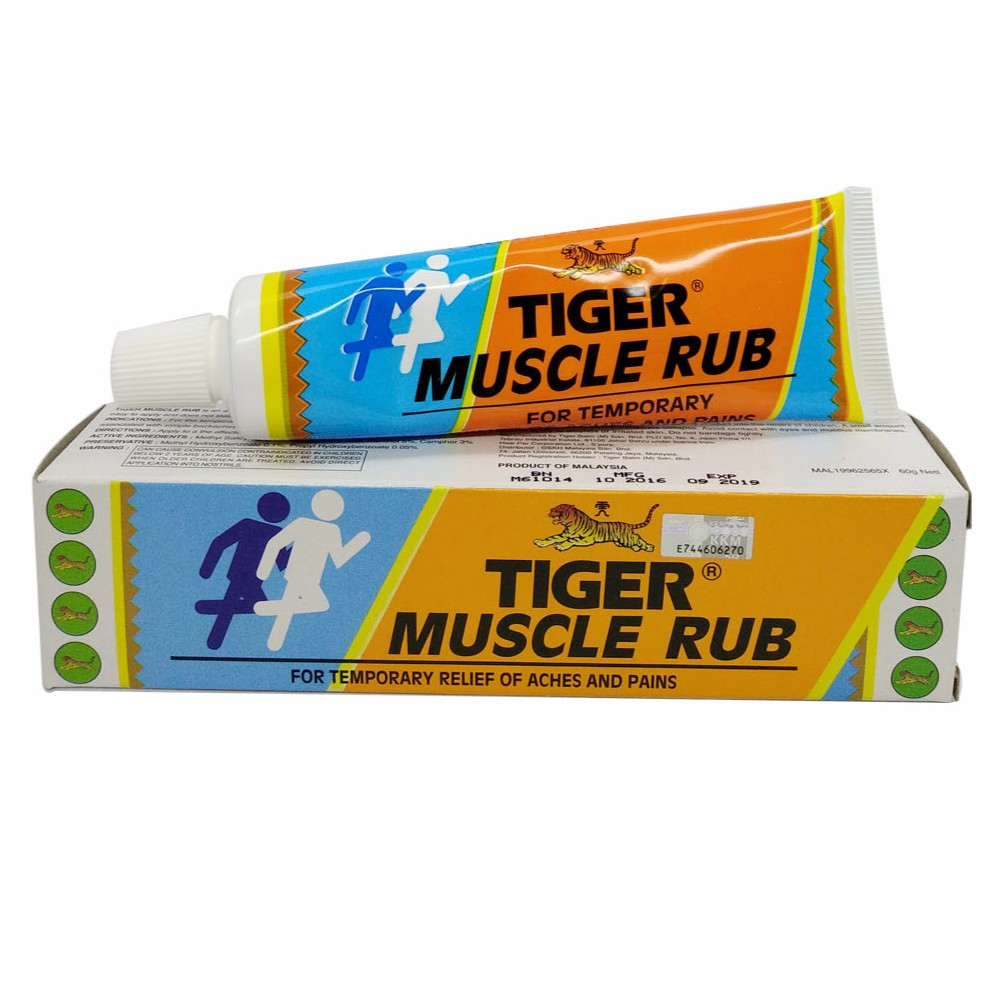 Tiger Balm Muscle Rub 60g Mygroser