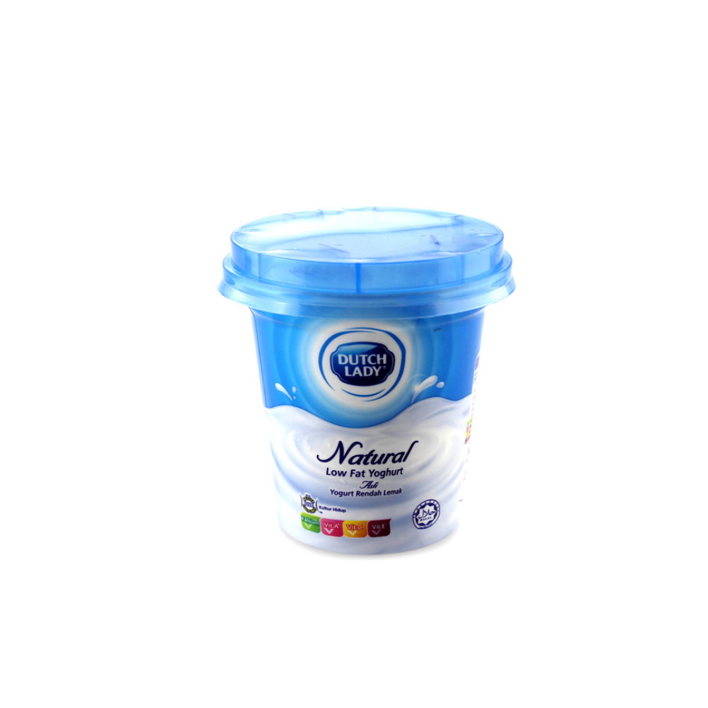 Dutch Lady Low Fat Yogurt Natural 140g | MyGroser